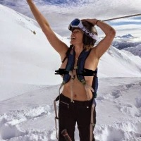 Chelsea Handler goes topless during a holiday ski trip