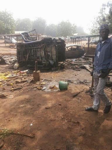 aftermath Bomb blast in Gombe | ozara gossip