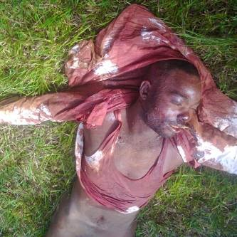 armed robber shot dead from access bank attack in Agbor | ozara gossip