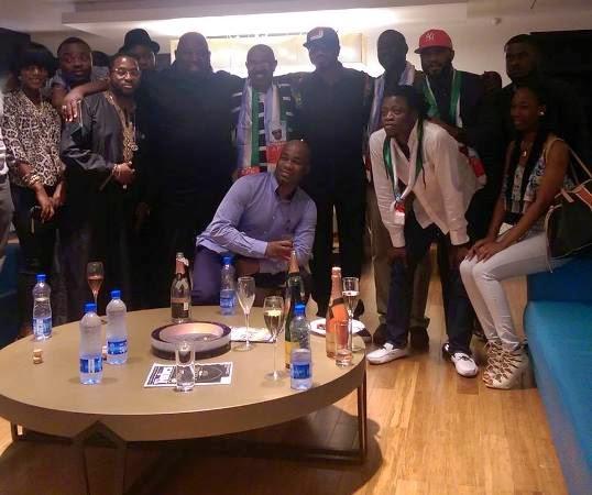 Nigerian artists Supports Buhari's campaign - ozara gossip
