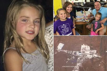 ozara gossip: 7-year-old girl suvives plane crash