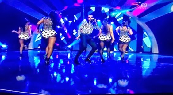 Flavour's performance at Glo CAF Awards - ozara gossip