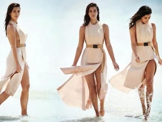 Kim Kardashian, Vogue Australia | ozara gossip