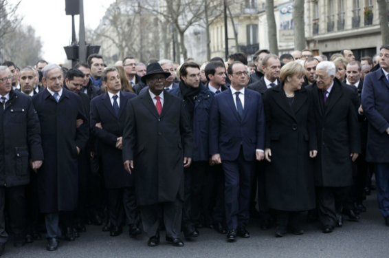 World leaders in Paris over Charlie Hebdo killing - ozara gossip