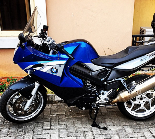 ozara gossip: Paul Okoye's new power bike