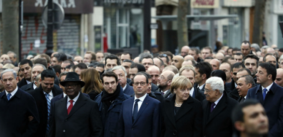 Ozara gossip: World leaders march on streets of Paris