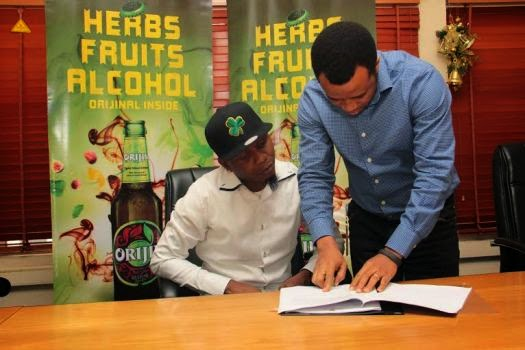 Reminisce signs new endorsement deal with Orijin