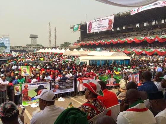 PDP presidential rally in Lagos  | ozara gossip