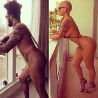 Funny Photos: See Basketmouth nude pose of Amber