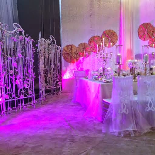 Decoration: Jonathan's daughter's wedding - ozara gossip