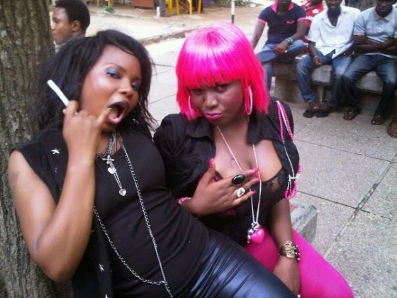 Yemi Alade back then before she became famous | ozara gossip
