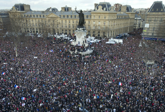 World leaders march on streets of Paris over Charlie Hebdo killing - ozara gossip