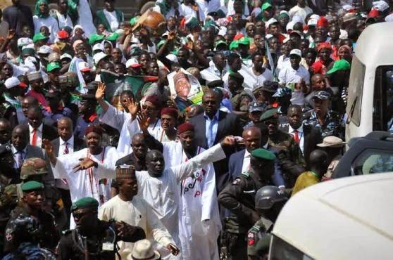 Pres. Jonathan's rally in Bauchi | ozara gossip