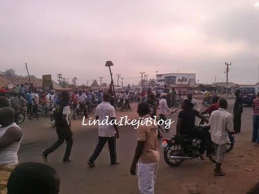 protest in Benue | ozara gossip