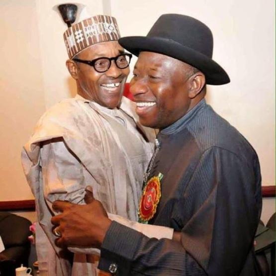 Pres. Jonathan & Buhari - ozara gossip