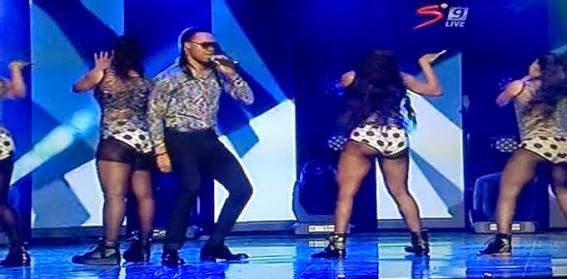 ozara gossip:  flavour and his female dancers