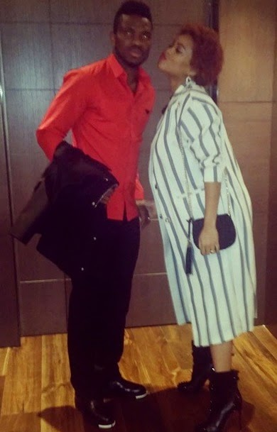 Joseph Yobo with his wife - Adaeze | ozara gossip