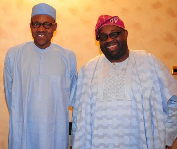 Dele Momodu and Buhari | ozara gossip