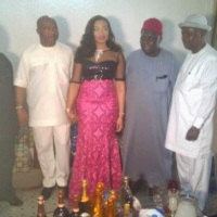 A 25 year old bride gets married to Senator Hope Uzodinma (Photos)