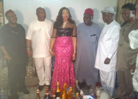 Senator Hope Uzodinma marries a 25 year old - ozara gossip