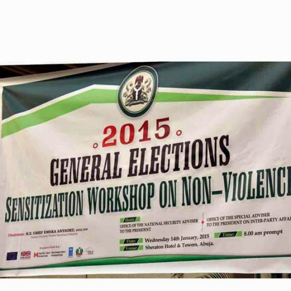 Workshop on Non-Violence in Abuja | ozara gossip