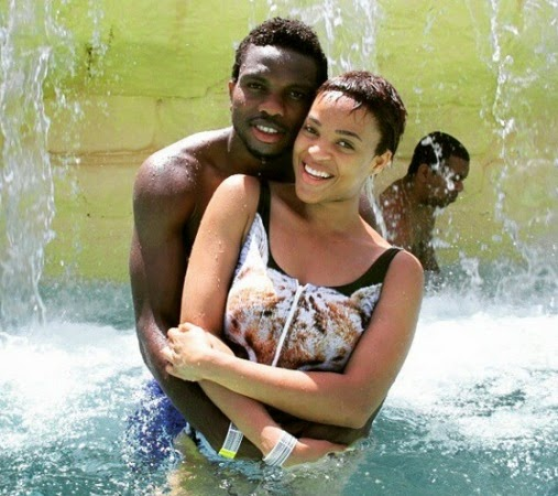 Joseph Yobo and Adaeze his wife | ozara gossip