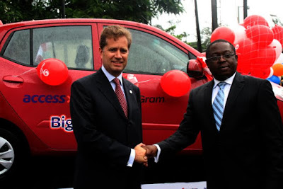 MoneyGram, Access Bank, Big Splash promo, Alex  Hoffman, Executive Vice President - ozara gossip